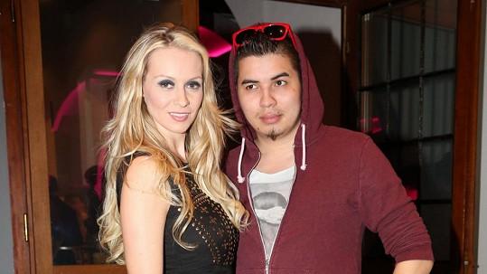 Martina Gavriely s přítelem Marcusem Tranem.