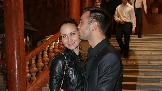 Veronika Nová s přítelem Biserem.