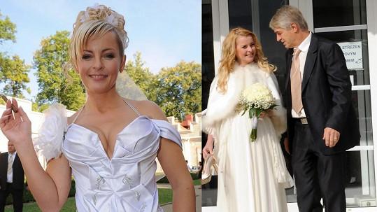 Iveta Bartošová se po pěti letech zase vdala. Podívejte, jak moc se změnila!