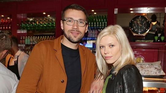 Lukáš Hejlík a jeho nová přítelkyně Veronika
