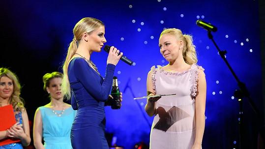 Markéta Konvičková se na křtu vánočního cédéčka rozplakala.