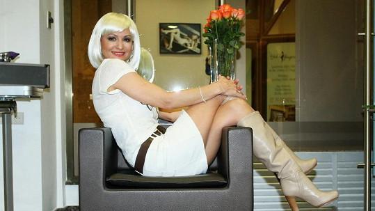 Yvetta Blanarovičová má dokonalou postavu.