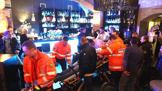 Na křtu Sámera Issy zasahovali záchranáři i policisté.
