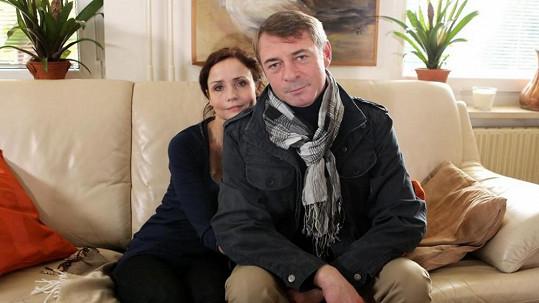 Jiří Dvořák v seriálu Svatby v Benátkách