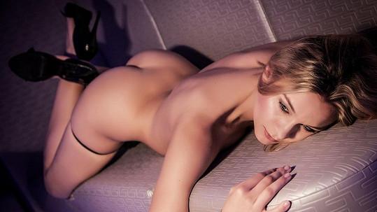Barbora Mottlová předvedla své tělo.