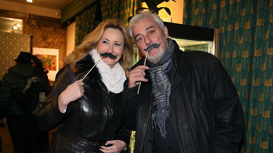 Jan Rosák s manželkou Jiřinou