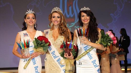Vítězky soutěže Miss Deaf