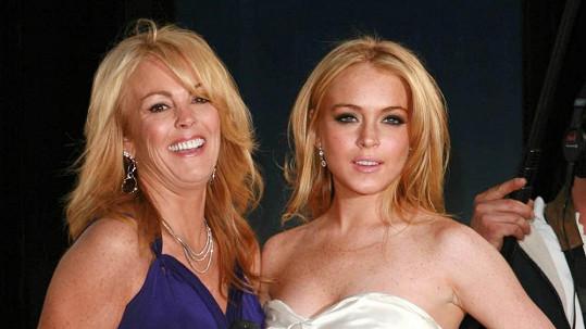 Lindsay Lohan se svou matkou Dinou.