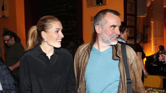 Olga měla na akci i druhého muže svého života, režiséra Jaroslava Brabce.