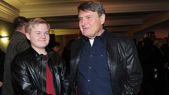 Ladislav Štaidl se synem Arturem