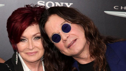 Ozzy Osbourne s manželkou Sharon.