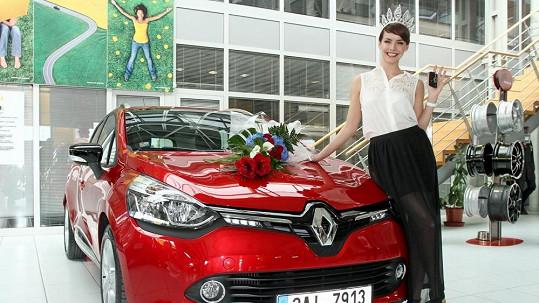 Gabriela Kratochvílová se pochlubila novým autem.