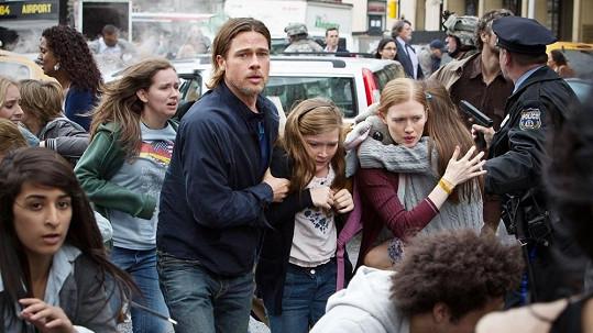 Brad Pitt ve filmu Světová válka Z