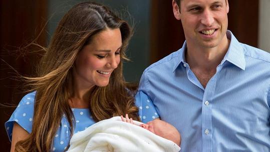 Prince George čeká křest.