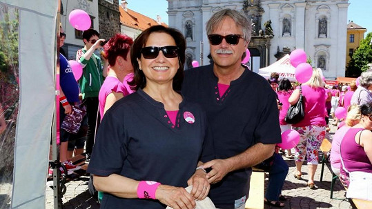 Veronika Freimanová s manželem