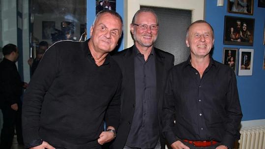 Jožo Ráž a jeho kolegové z Elánu.