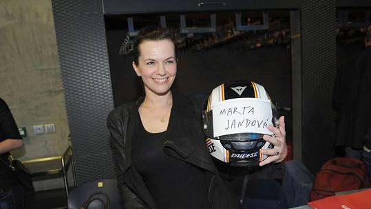 Marta Jandová byla motorkářka.