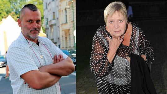 Tomáš Valík a Jaroslava Obermaierová