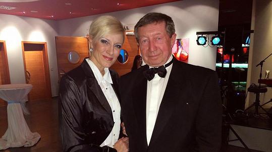 Štěpán Škorpil a Renata Drössler moderovali ve dvojici...