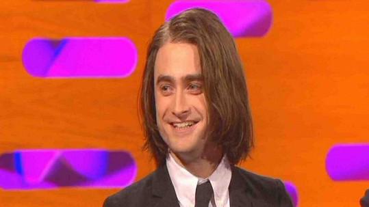 Daniel Radcliffe v televizním pořadu.