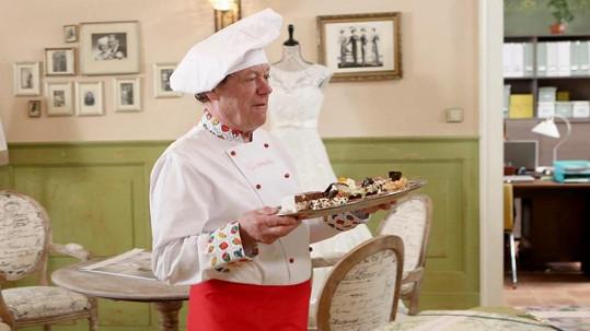 Oldřich Vízner se představí v roli cukráře.
