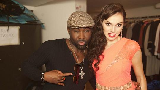 Mano Ezoh s Kamilou Nývltovou