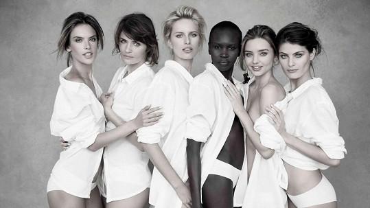 Kalendář Pirelli a jeho modelky pro příští rok