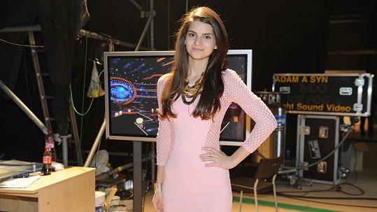 Tereza Mandzáková skončila v neděli v SuperStar.