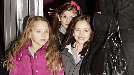 Nelly Sofie a Charlotte Ella Gottovy už v útlém věku pracují v šoubyznysu.