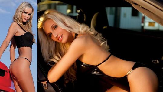 To je ale výstava! Blondaté sexbomby na fotkách ukazují svou krásu.