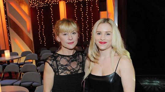 Dana Batulková s dcerou Marianou oslnily na finálovém večeru StarDance.