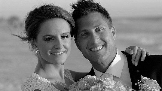 Sandra Rosová se svým manželem Chadem