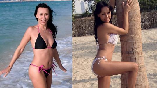 Heidi Janků znovu ukázala své skvostné tělo v plavkách.