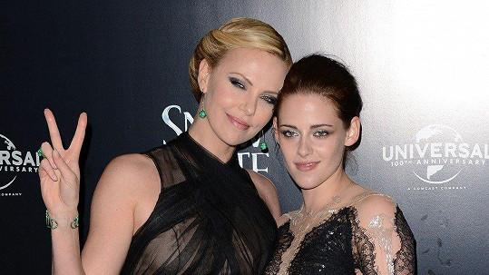 Charlize Theron a Kristen Stewart