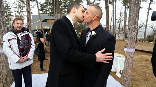 Petr Semerád a Braňo Polák si zahráli gaye.