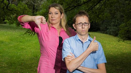 Iva Velíšková a Martin Vencl se rozhodli zapracovat na svých postavách. Jeden potřebuje shodit, druhý nabrat svaly.