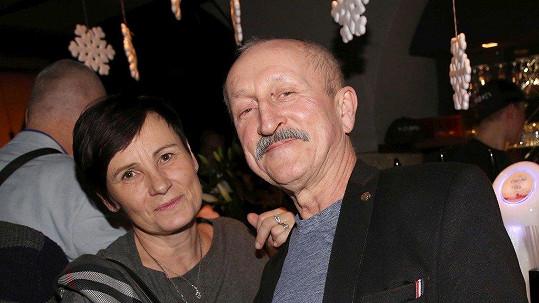 Oldřich Navrátil s manželkou