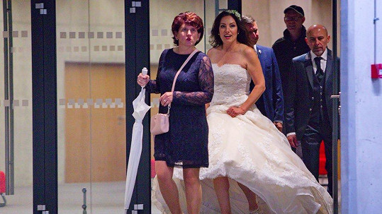 Katarína Hasprová se vdala.