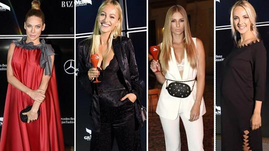 Co měly hvězdy na zahájení týdne módy?