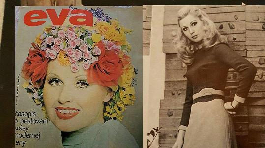 Melánie Vančurová byla úspěšnou modelkou.