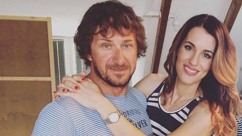 Lucie Křížková s manželem Davidem