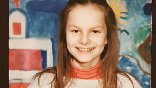 Iva Pazderková bývala dřív brunetka.