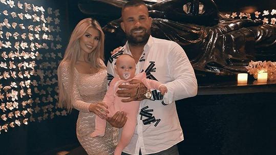 Karlos s Lelou a jejich dcerkou
