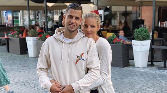 Dávid Hancko a Kristýna Plíšková