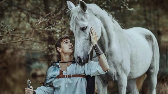 David Gránský by byl pro roli pohádkového prince jako stvořený.
