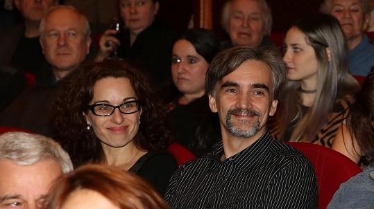 Martin Myšička s manželkou