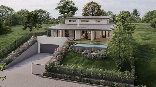 Nikol Štíbrová si staví tento dům.