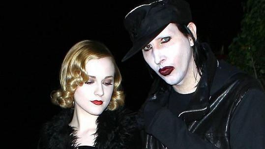 Evan Rachel Wood nařkla Marilyna Mansona z týrání.