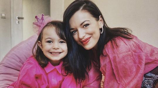 Jitka Boho s dcerou Rozárkou