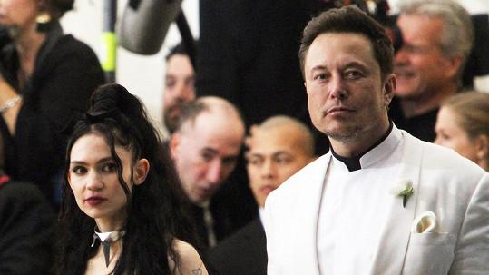 Grimes a Elon Musk